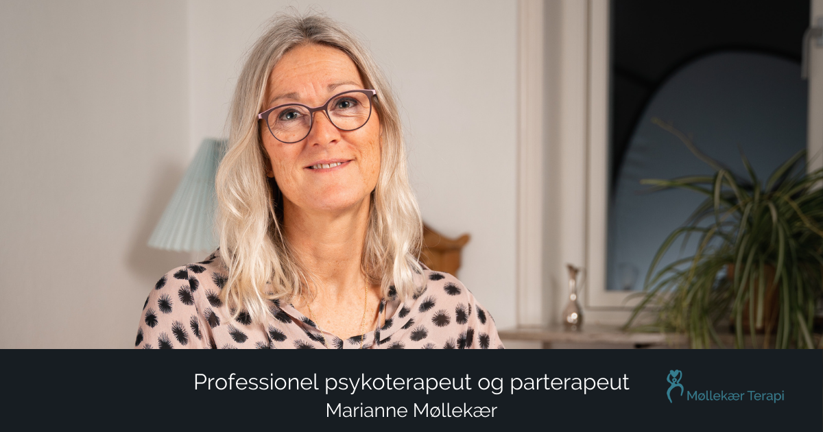 Professionel psykoterapeut og parterapeut i Valby